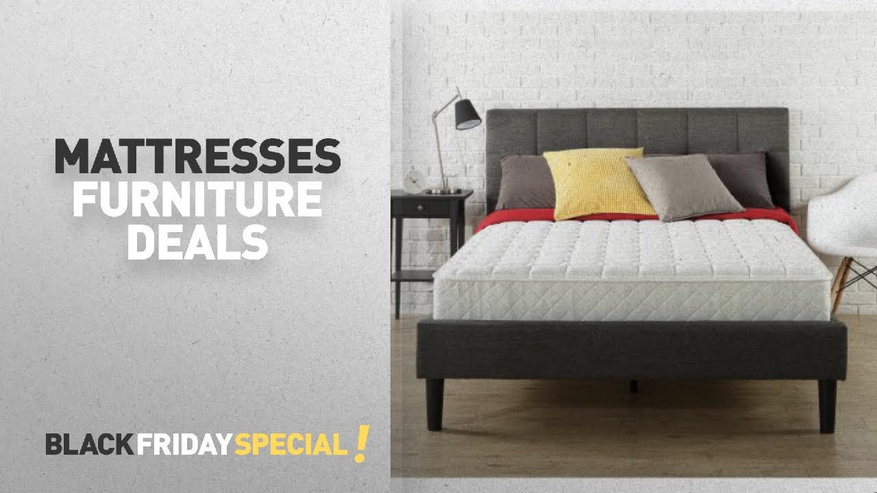 Top Black Friday Mattresses Deals Slumber 1 8 Spring Mattress In A Box Multiple Sizes