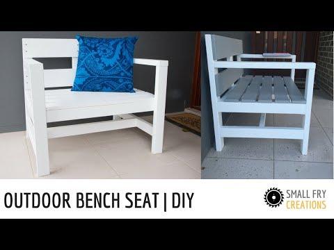Outdoor Bench Seat | DIY