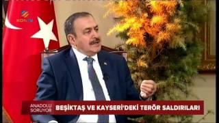 Orman Ve Su İşleri Bakanı Sn. Prof. Dr. Veysel EroĞlu' Nun Trt Haber Canlı Y