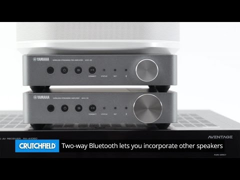 Yamaha MusicCast wireless multi-room audio | Crutchfield video