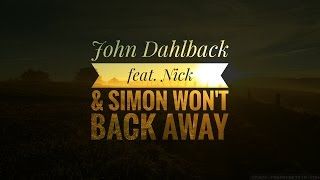 John Dahlback feat. Nick & Simon – Won