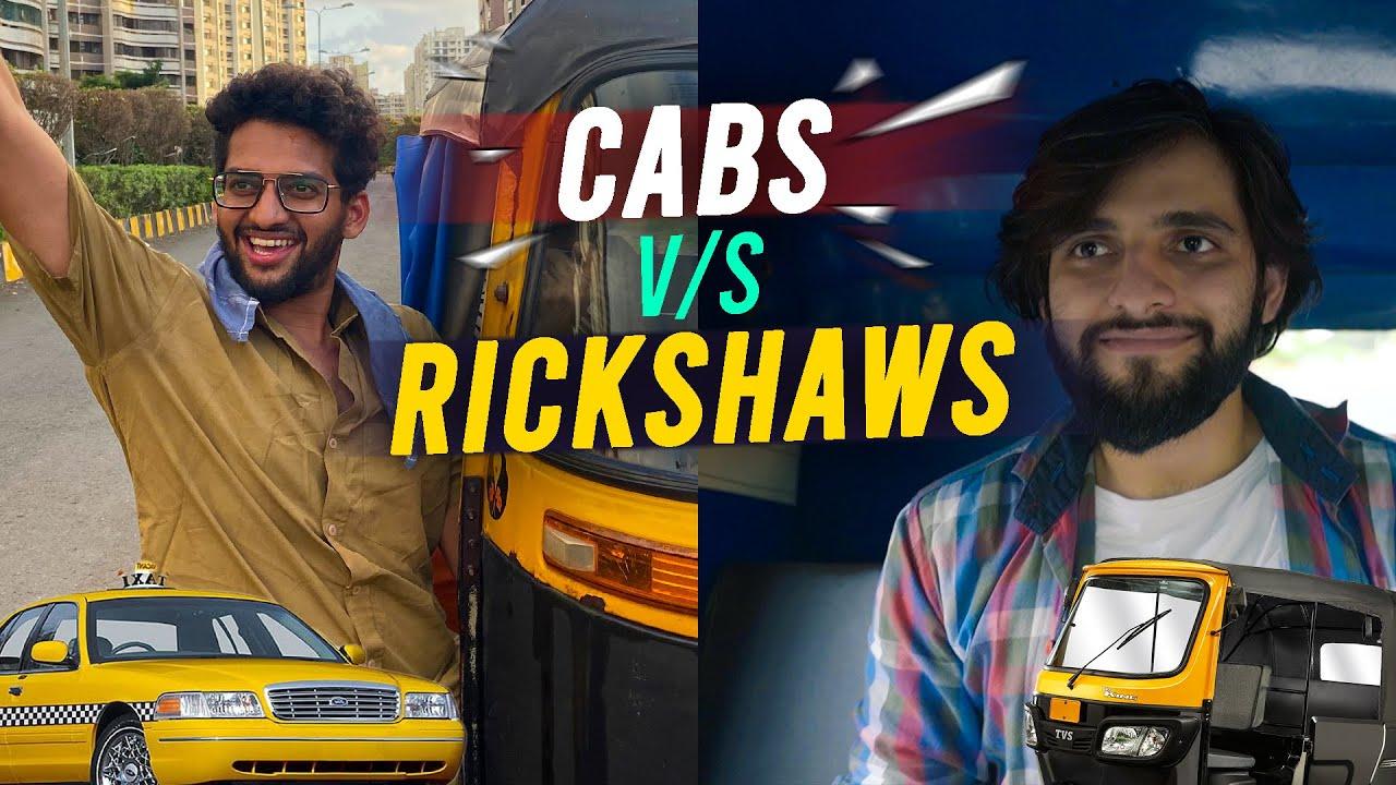 Cabs vs Auto-Rickshaws   Funcho