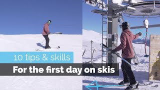 Bulgaria Skiing - HOW TO SKI | 10 BEGINNER SKILLS FOR THE FIRST DAY SKIING