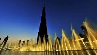Dubai fountain close view