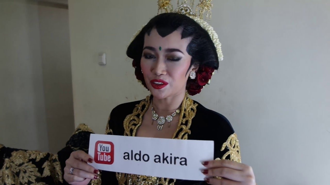 Indonesian Celebrity Top ratu felisha wedding makeupaldo akira indonesian celebrity