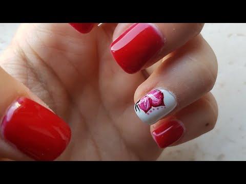 TUTORIAL Nail art Farfalla )Semplice e veloce!
