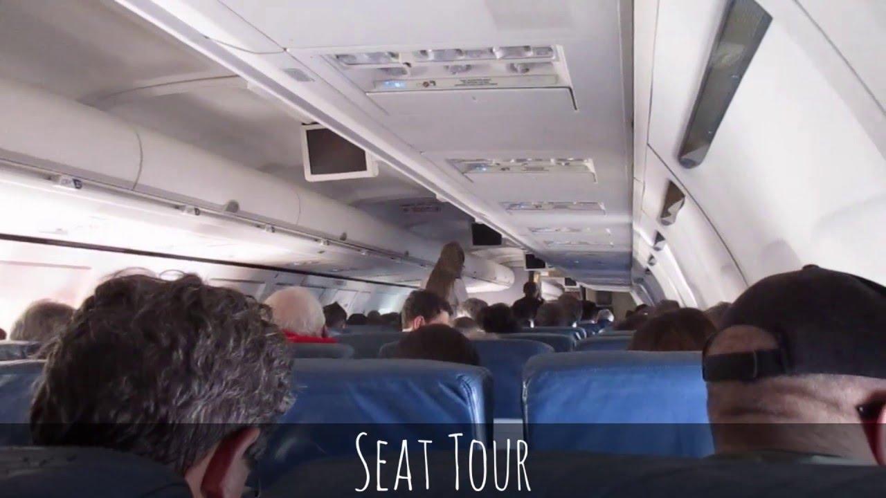 Delta Boeing 757 200 Cabin Tour