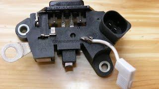 ПОЛЕЗНО ВСЕМ. Самостоятельный ремонт реле регулятора напряжения (замена щёток).