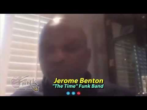 Jerome Benton of the Funk group ''The TIME'' interview w/TheFunkcenter.
