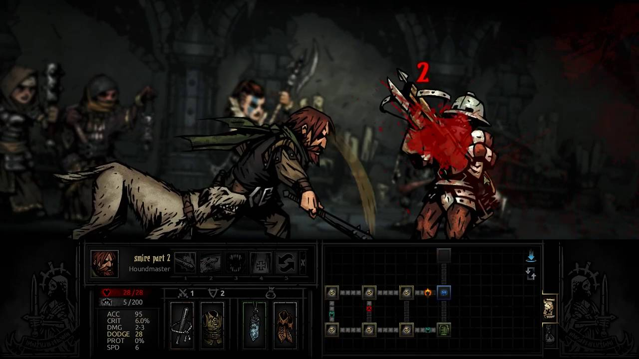 Darkest Dungeon How To Play The Antiquarian Youtube