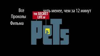 Все проколы фильма Тайная жизнь домашних животных