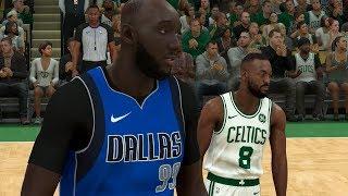 NBA 2K20 Tacko Fall My Career - Emotional Revenge Game vs Celtics