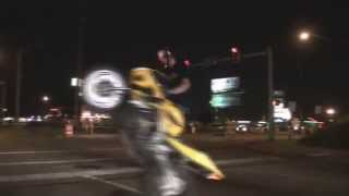 Street Bike Tricks On The Highway Stunt Bikers Ride Long Wheelies Wild Stunts Biker Boyz Tulsa, OK