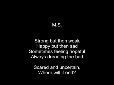 An Emotional Poem About Multiple Sclerosis By Rose Robinson Poems