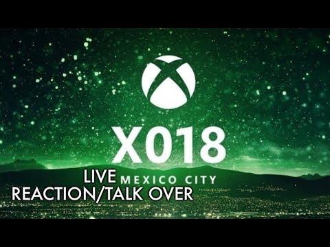 Xbox X018 Live Reaction