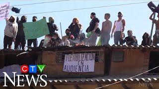 Suspected COVID-19 death causes prison riots in Bolivia