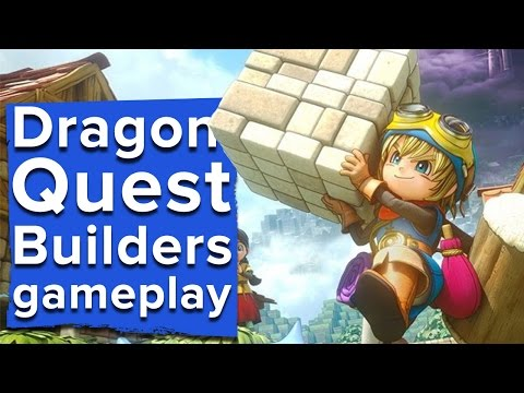 Dragon Quest Builders gameplay - The first chapter - Live Stream