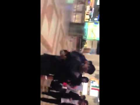 bohaimia rapping on the kuwait international airport