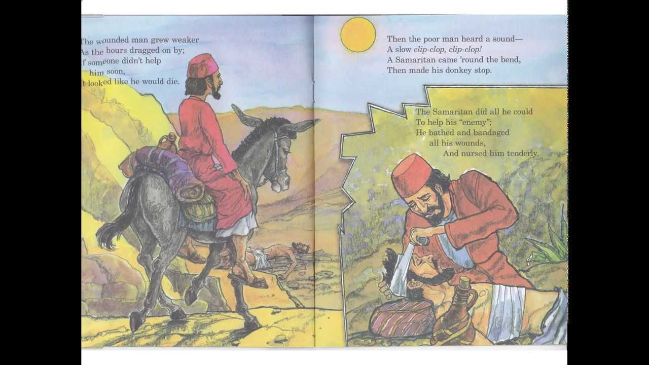 arch books the good samaritan children u0027s bible story book read