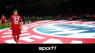Siegerehrung geschwänzt? Das sagt der FC Bayern | SPORT1 - VOLKSWAGEN POKALFIEBER