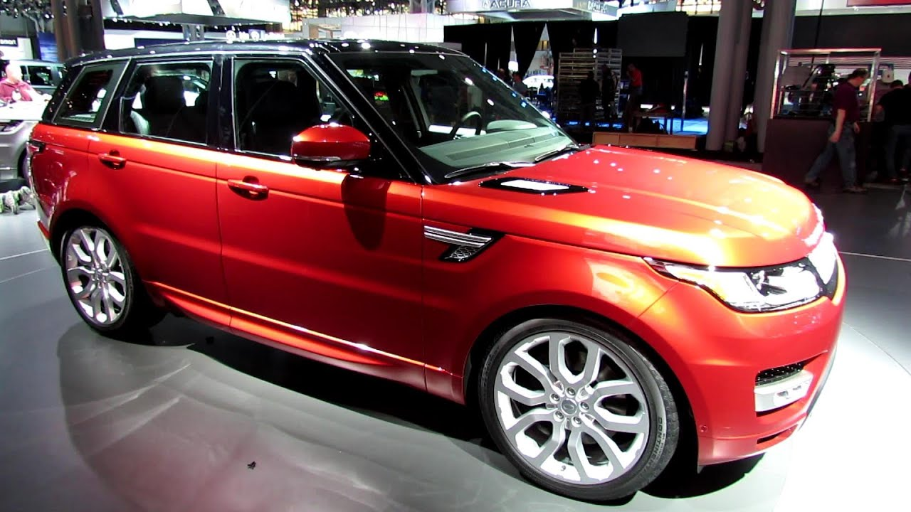 2014 Range Rover Sport Autobiography Exterior and Interior
