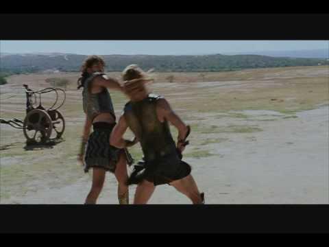 Troy - Hector vs Achilles Fight Scene - HQ - Widescreen