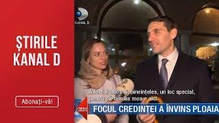 Stirile Kanal D (28.04.2019) - Focul credintei a invins ploaia! Editia de seara