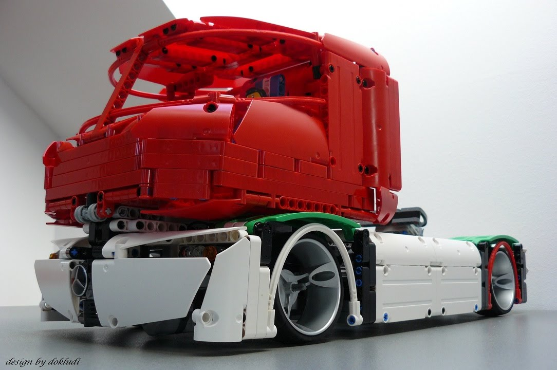 Lego Technic Mercedes Benz Truck Of The Future 2045 By Dokludi No
