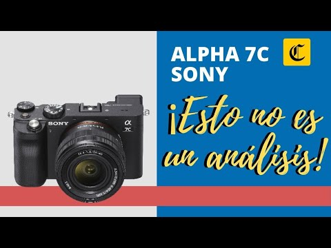 GADGETS | CÁMARAS DIGITALES | ANÁLISIS | ALPHA 7C | La apuesta de Sony por la versatilidad y lo compacto en una cámara | TECNOLOGIA