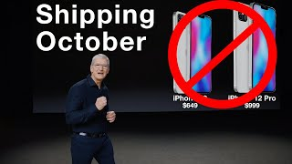 Apple September 15 Event Confirmed - NO iPhone 12!