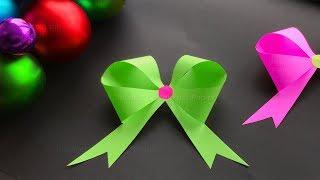 Schleife basteln Weihnachten: Geschenke einpacken oder DIY Origami Weihnachtsgeschenke selber machen