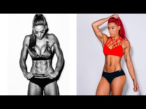 Red Haired Crossfit Master ❤ Hannah Eden ➡ HIIT, Workout, Calisthenics