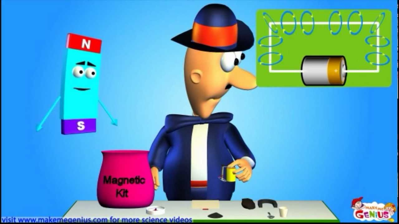 Electromagnet -What is it ? For Kids - YouTube
