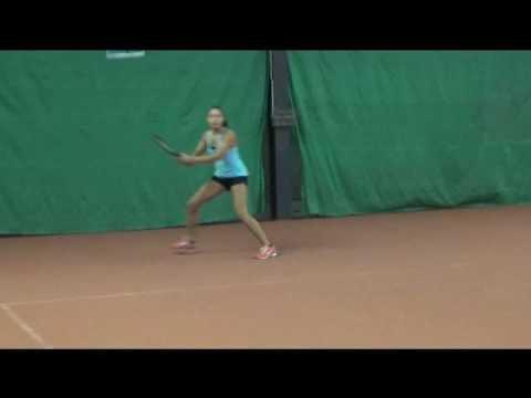 Tennis Recruit Video Studiebeurs USA OverBoarder - Chelsea Apawti