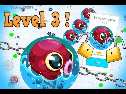 Agar.io Mobile UNLOCKING Level 3 Octopus!! | INSANE DUO & SOLO DESTRUCTION!! AGARIO thumbnail