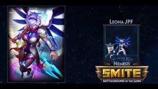SMITE: Skin de Jetpack Fighter Nemesis Leona