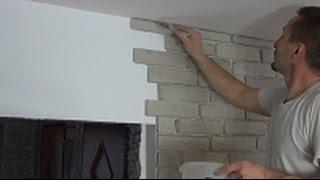 Jak ułożyć imitację cegły, film instruktażowy.