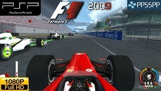 F1 2009 - PSP Gameplay 1080p (PPSSPP)