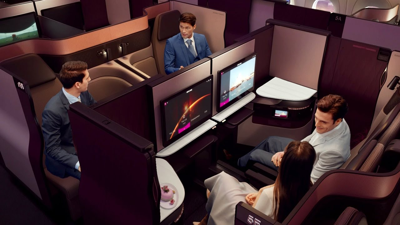 Image result for Qsuite Qatar Airways