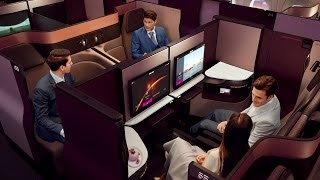 Introducing Qsuite - Qatar Airways New Business Class