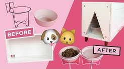 MAKING PET DIYs FROM IKEA ITEMS