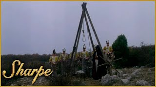 Sharpe Gets Sentenced To Death By Hanging | Sharpe