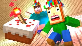 Baldi s Birthday Minecraft Animation Compilation