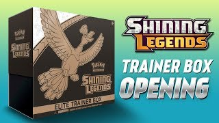 EARLY Shining Legends Elite Trainer Box Opening (AMAZING PULLS)