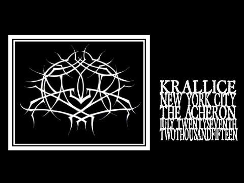 Krallice - Ygg huur (The Acheron 2015)