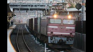 JR貨物EF81形電気機関車