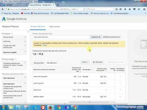 Tutorial GRATIS lainnya : http://www.navaimtutorial.com Sebuah tutorial cara menggunakan google keyw.