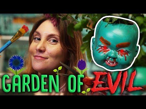How to Make Your Garden Evil AF - Dark DIY // Paint it Black | Snarled