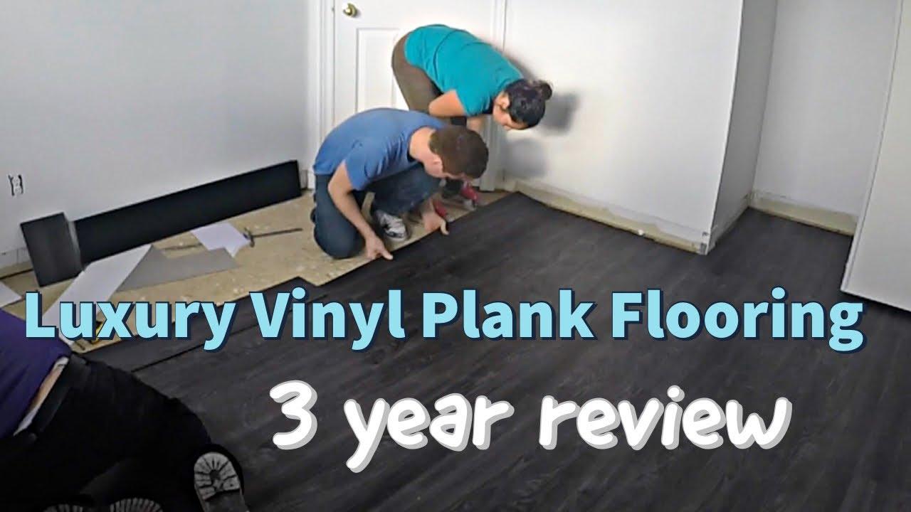 Allure Locking Aspen Oak Black Luxury Vinyl Plank Flooring Review Youtube