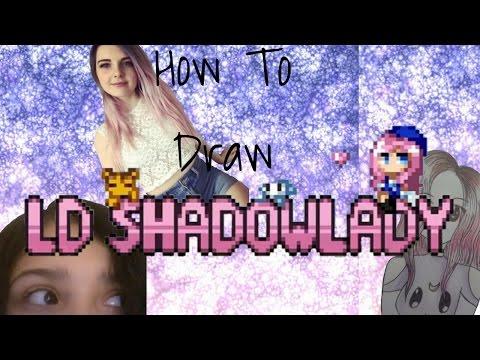 How To Draw LDShadowLady!||Daya Does Art